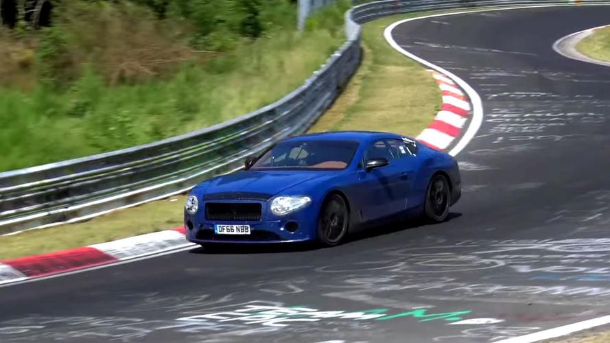 Bentley Continental GT casus video