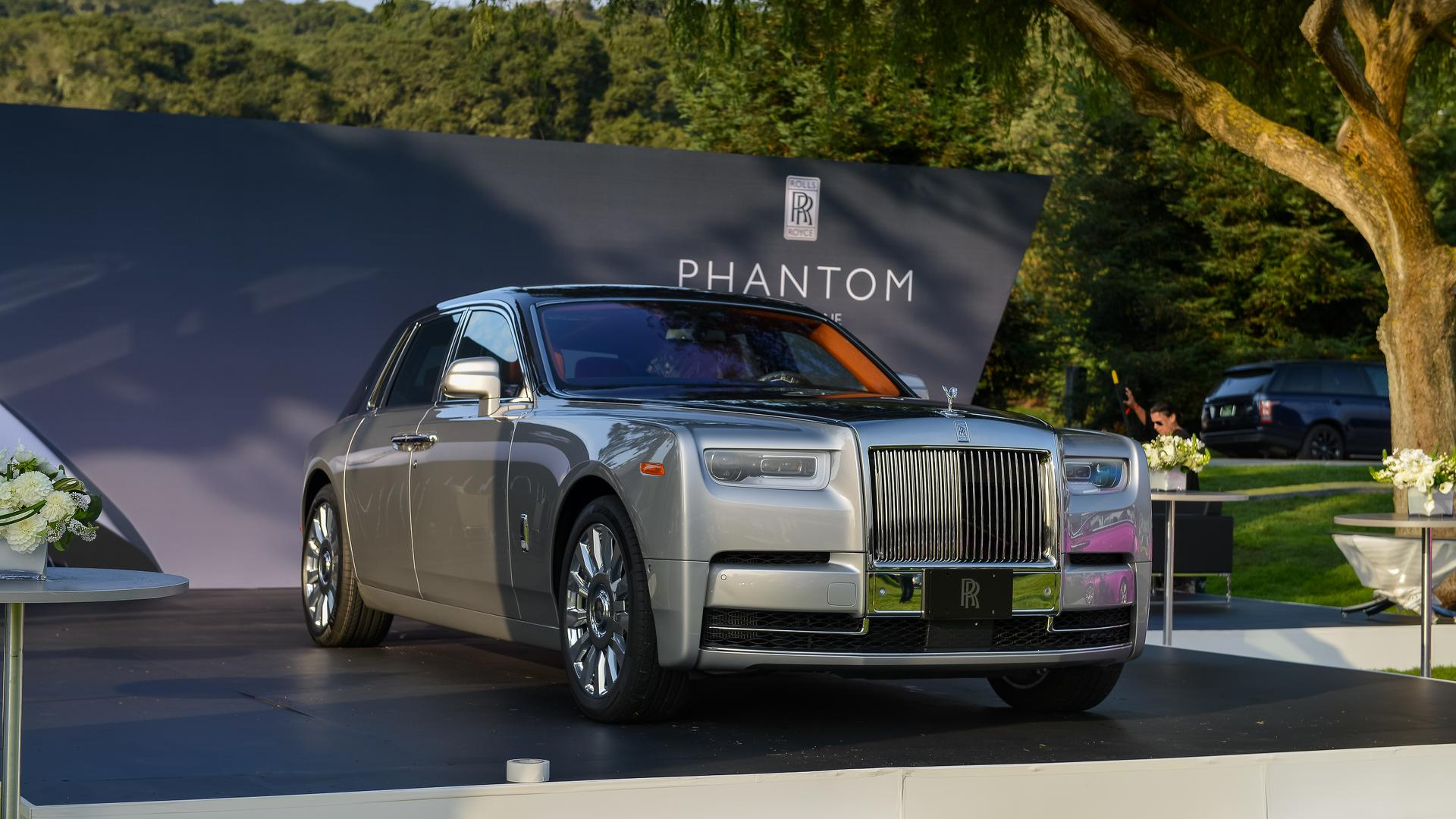 2018 Rolls Royce Phantom Commands Attention At Monterey