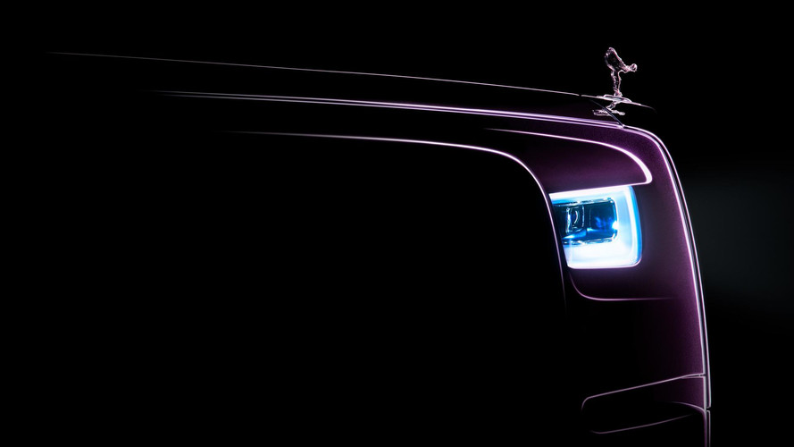 New Rolls-Royce Phantom: First Official Teaser Released