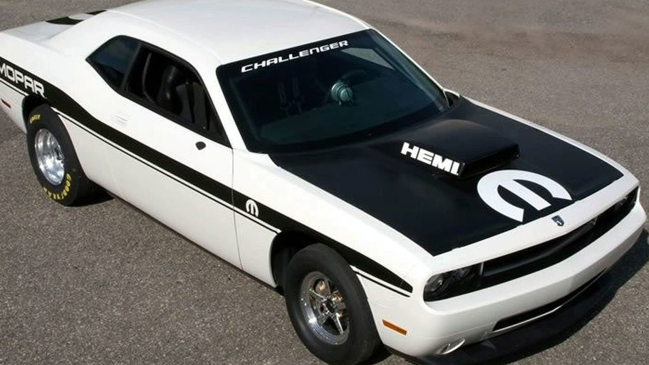 Dodge Challenger Drag Race Package