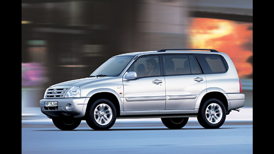 Suzuki Grand Vitara: XL-7 jetzt deutlich wertvoller