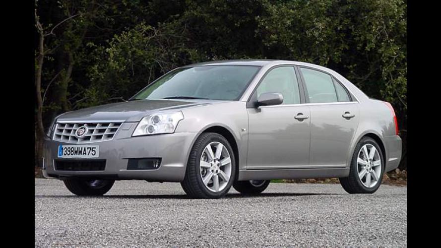 Cadillac BLS 2.8T V6: Vorstoß in die Mittelklasse