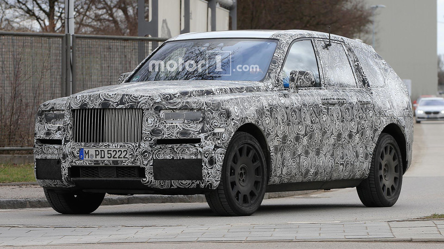 Rolls-Royce Cullinan Spied Looking Imposing In Europe