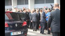 Nicolas Sarkozy visita il Salone di Parigi 2010