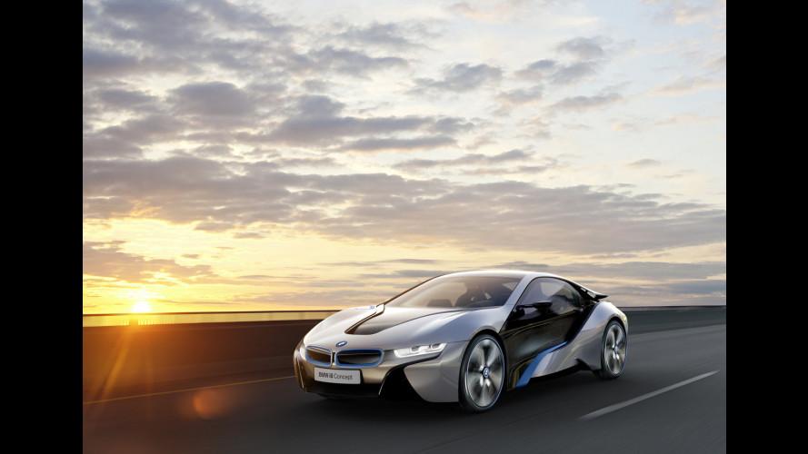 I fari della BMW i8 Concept saranno laser
