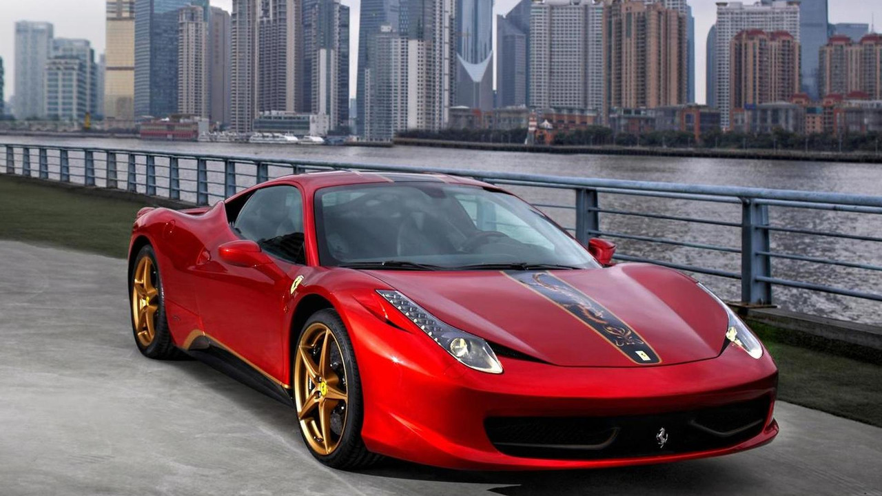 458 Italia special edition marks Ferrari's 20th anniversary in China