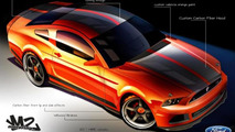 Ford Mustang by M2-Motoring for SEMA 24.10.2012