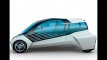 Futurista, compacto movido a hidrogênio da Toyota estará em Tóquio