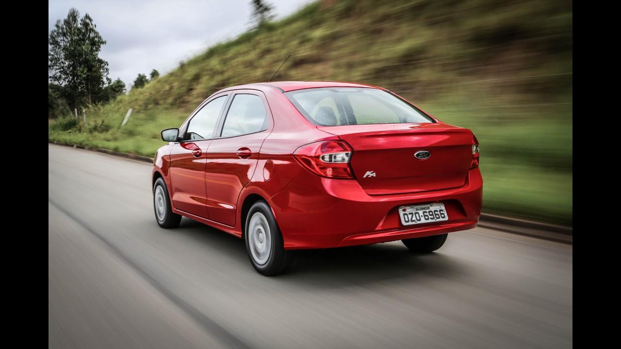 Ford Ka e Ka+ ficam mais caros na linha 2017; veja preços