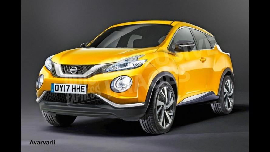 Nissan Juke de próxima geração terá visual