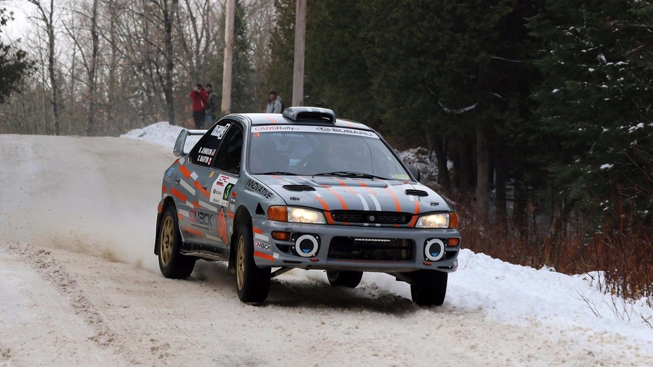 Chris Martin, Brian Johnson, Subaru Impreza WRX STI