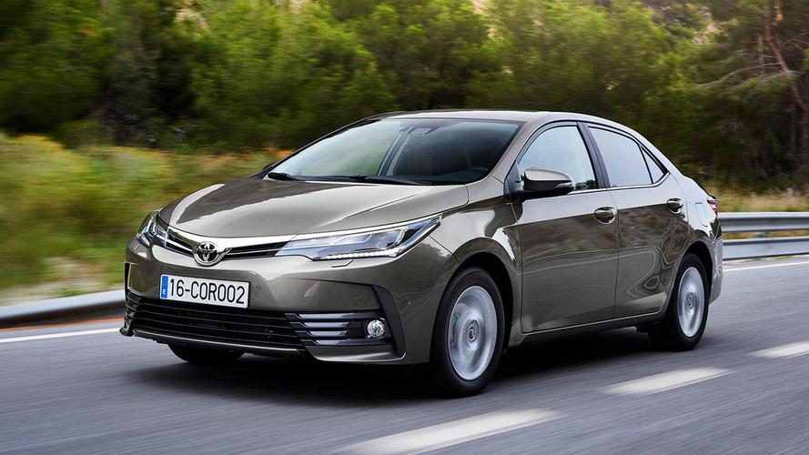 Toyota Corolla 2018 - euro