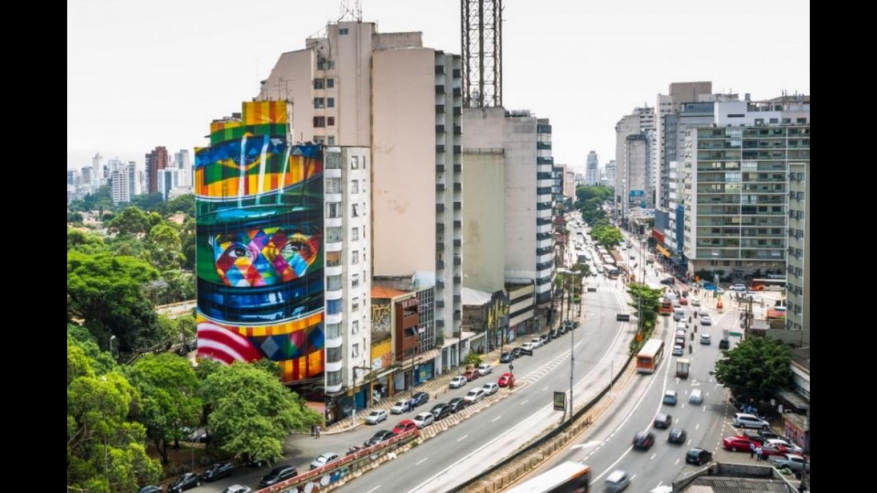 Primeiro A3 Sedan nacional ganha pintura especial em homenagem a Senna