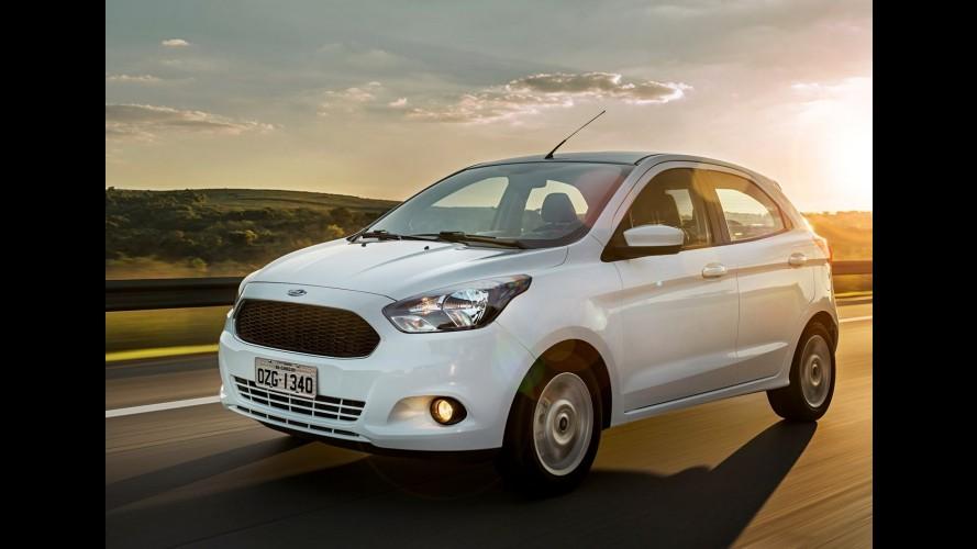 Novo Ford Ka estreia na Europa no final do ano com o nome Ka+