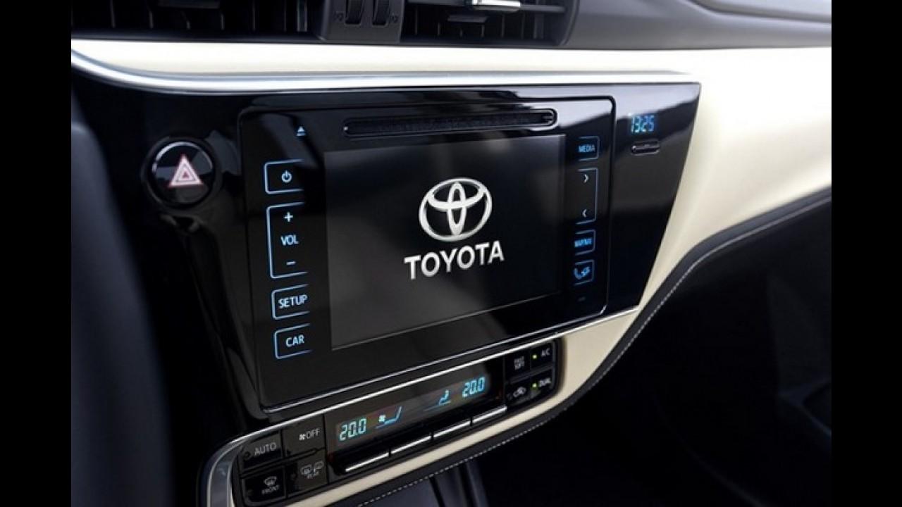 Toyota Corolla 2017 reestilizado tem novas fotos reveladas (inclusive do interior)