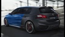 Peugeot 308 R Hybrid é supercarro de família com potência de 500 cv