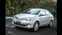 Toyota Etios Sedan brasileiro chega ao Peru com garantia estendida
