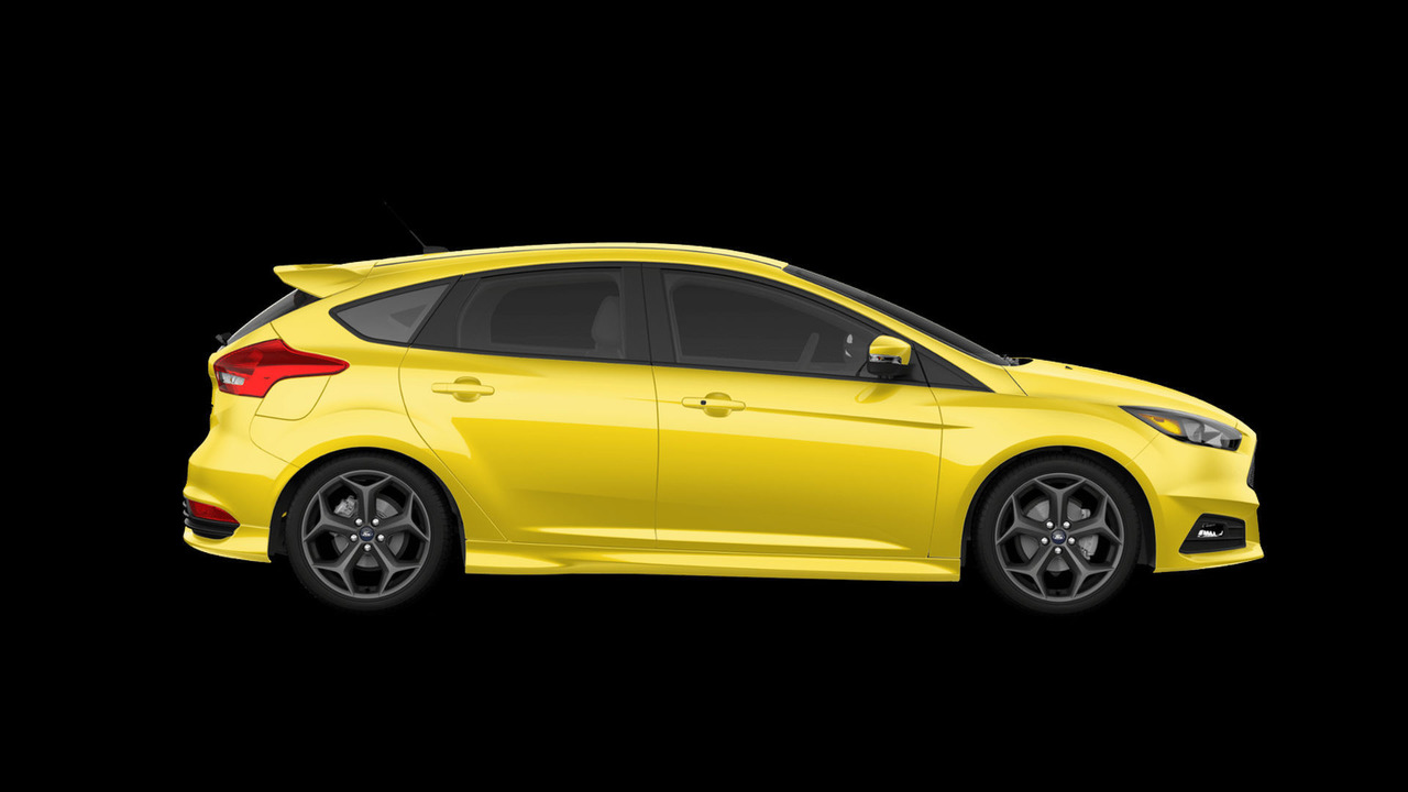 2017 ford focus st prevents mellowing out with new triple yellow paint. Black Bedroom Furniture Sets. Home Design Ideas