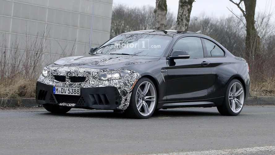 Photos espion - La BMW M2 prépare son lifting