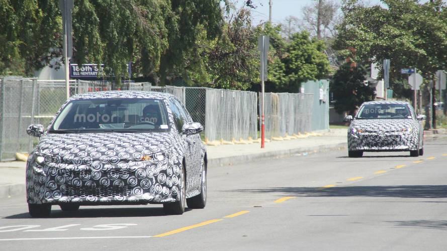 2020 Toyota Corolla daha az kamuflaj ile görüntülendi