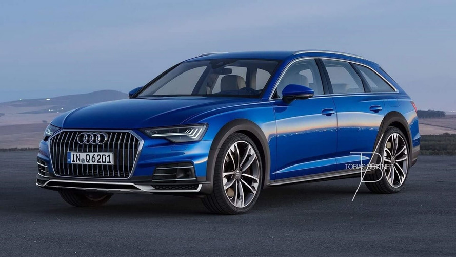 2019 Audi A6 Allroad Rendered, Looks Properly Rugged