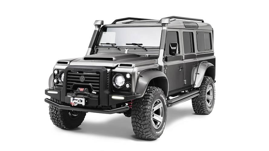 ares design reveals new take on land rover defender. Black Bedroom Furniture Sets. Home Design Ideas