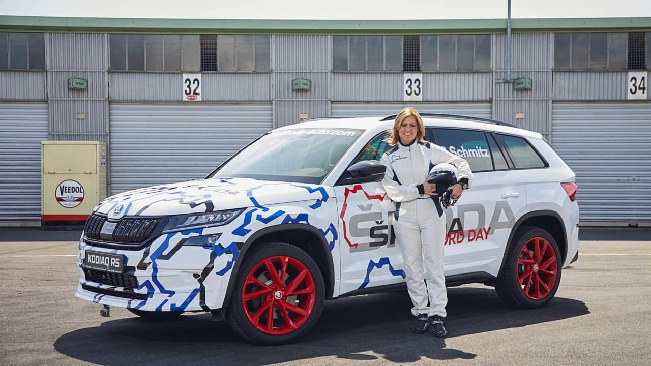 2019 Škoda Kodiaq RS s profesionálnou pretekárkou Sabine Schmitz - Nový rekord Nordschleife!