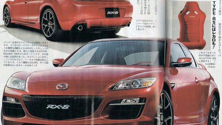 Leaked: Mazda RX-8 Facelift