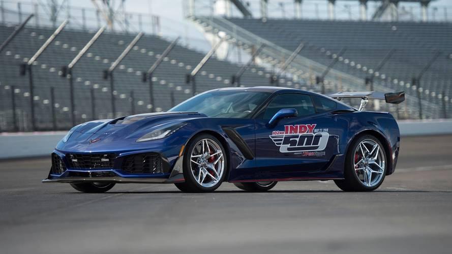La reine des Chevrolet Corvette a rendez-vous avec l'Indy 500