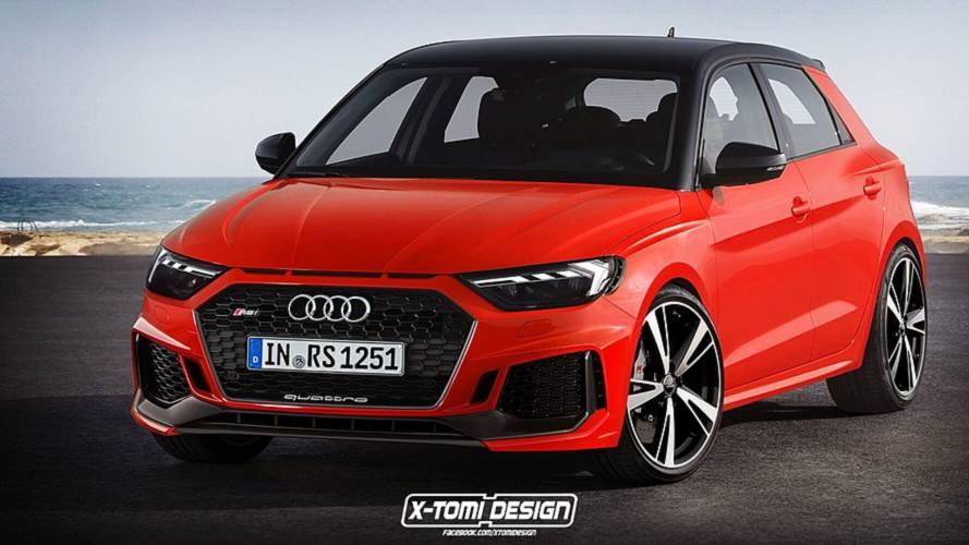 2019 Audi RS1, RS1 Clubsport Quattro, A1 Avant, A1 Allroad renders
