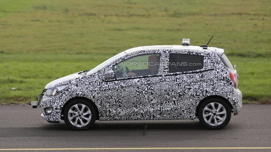 All-new Opel Karl / Vauxhall Viva returns with less camo in fresh batch of spy pics
