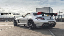 Prior Design PD900GT widebody kit for Mercedes SLS AMG