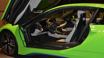 BMW i8 Lime Green