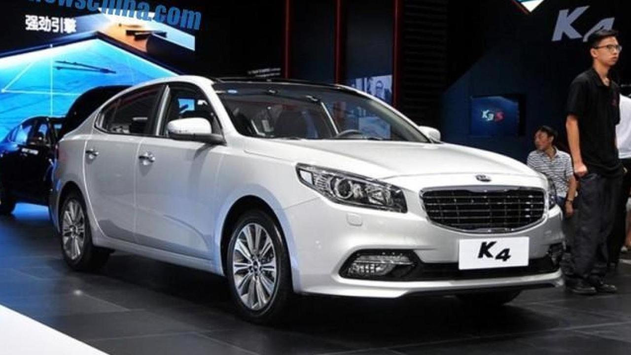 Kia K4 at Chengdu Motor Show