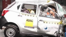 Datsun Go at Bharat NCAP crash test