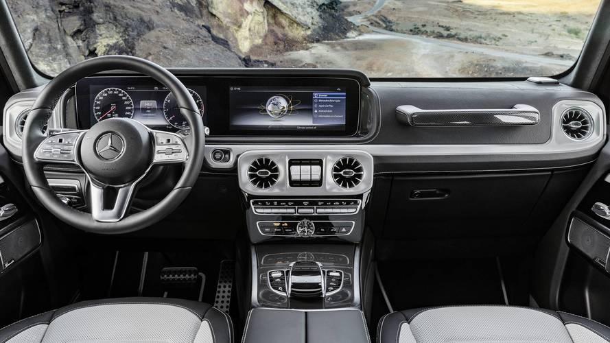 Yeni Mercedes G-Serisi'nin kısa bir videosu yayınlandı