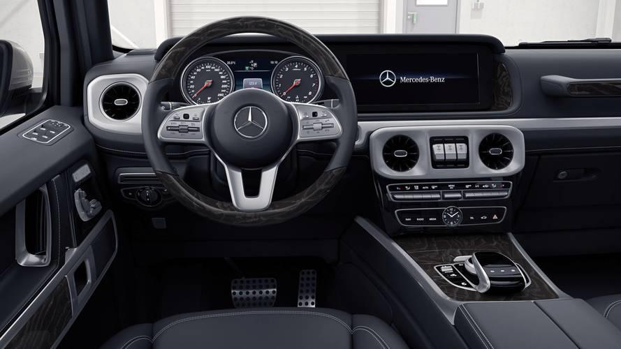 2018 Mercedes G-Class interior first look