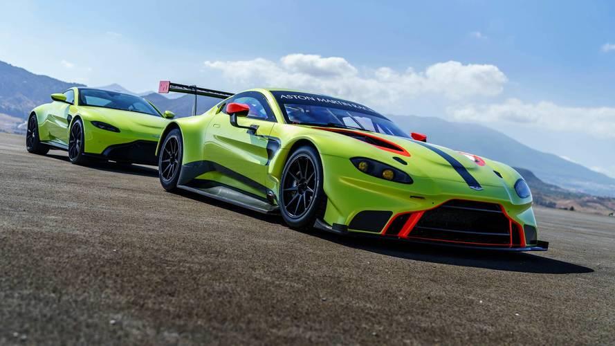 Aston Martin présente sa nouvelle Vantage GTE