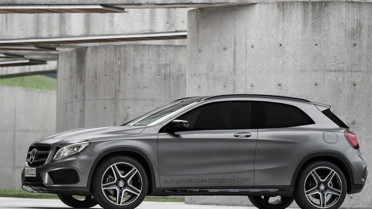 Mercedes-Benz GLA Coupe render