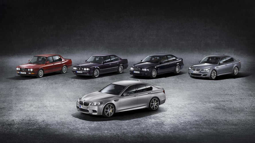 PHOTOS - L'évolution de la BMW M5 en 300 images !