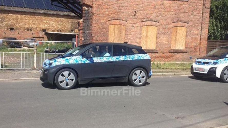 BMW i3 spied with minimal camo