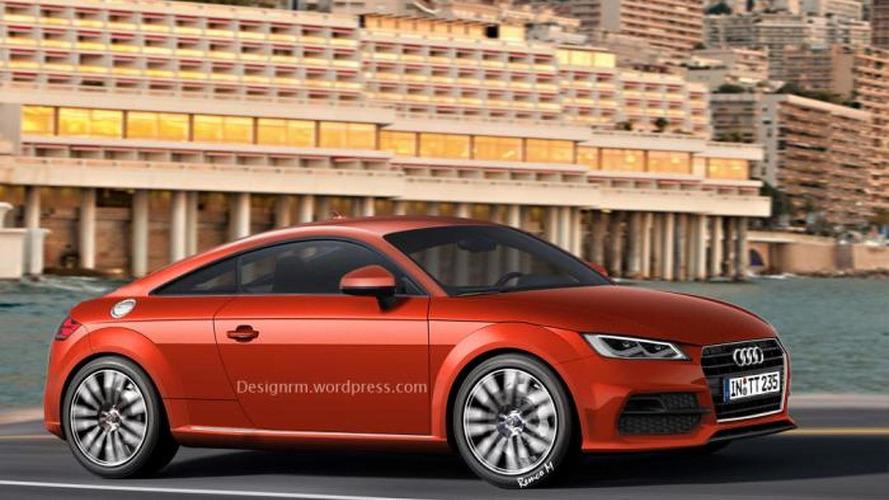 2015 Audi TT gets rendered ahead of its Geneva debut
