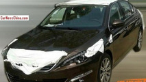 Peugeot 408 Sedan spied with minimal camo in China