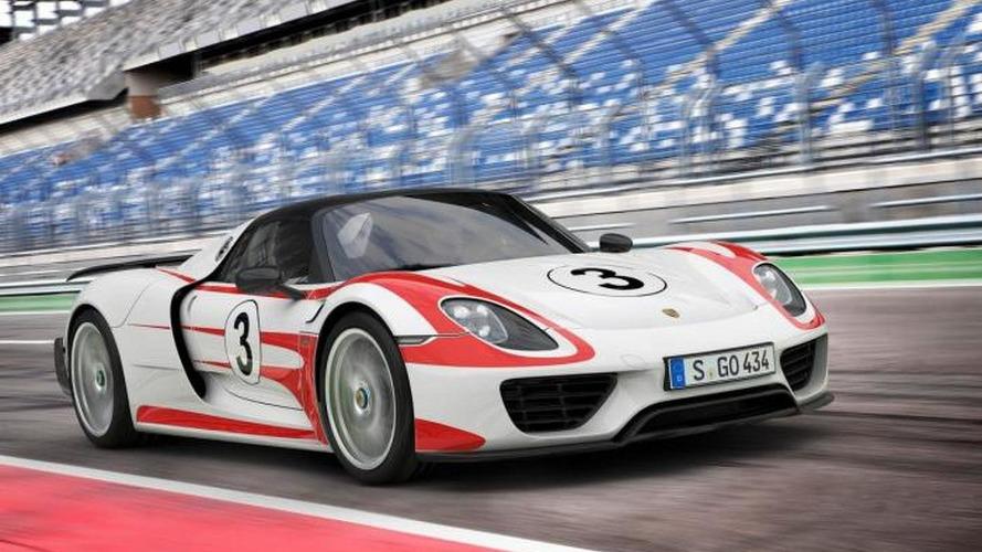 Porsche updates 918 Spyder performance figures 060 mph in 25s