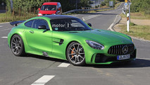 Mercedes-AMG GT4 road car spy photo