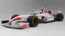 Two-seater F1 car