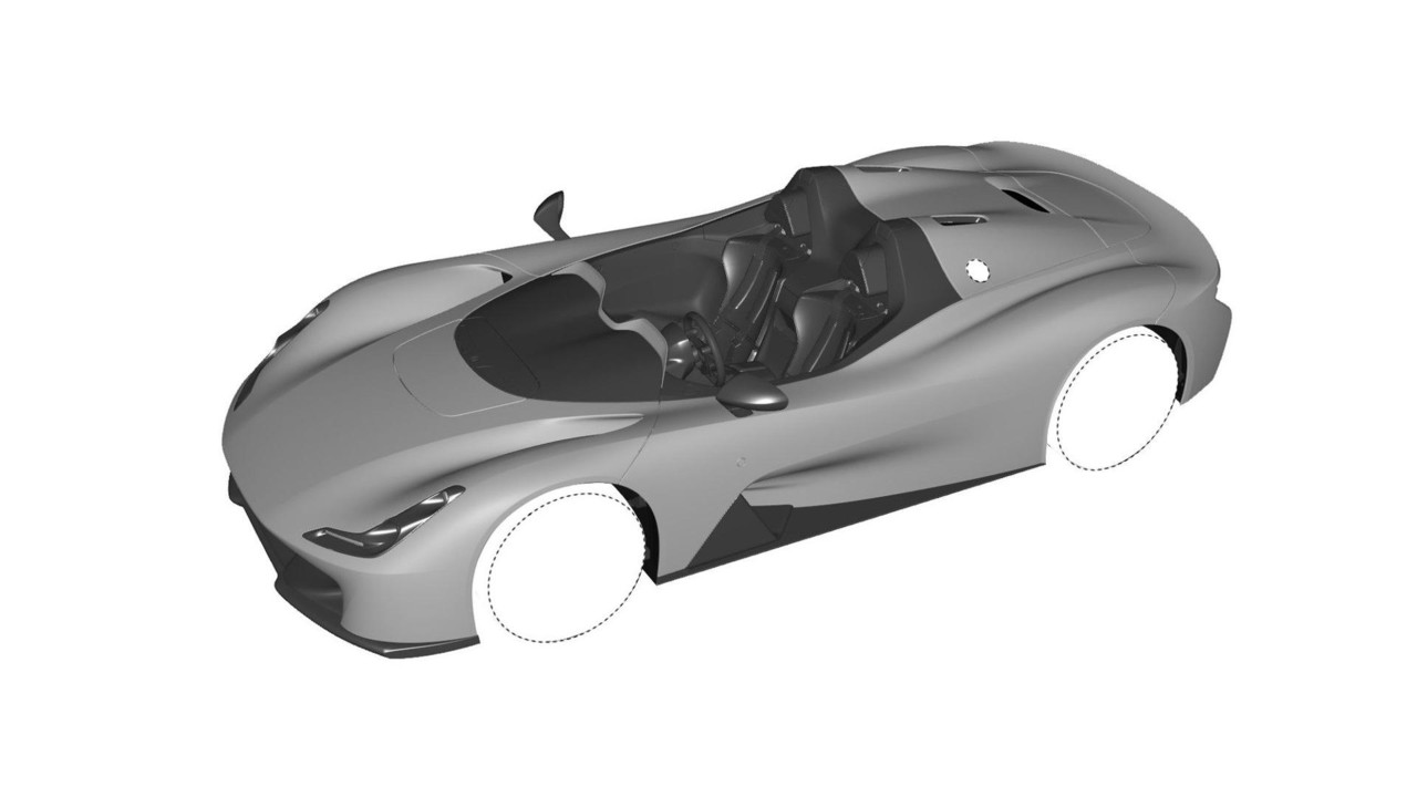Dallara Design Rendering