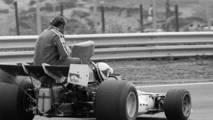 Zandvoort 1973: Clay Regazzoni (BRM) y Mike Hailwood (Surtees)