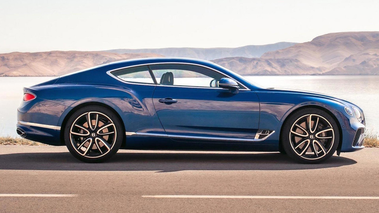 Bentley Continental GT Zoomed