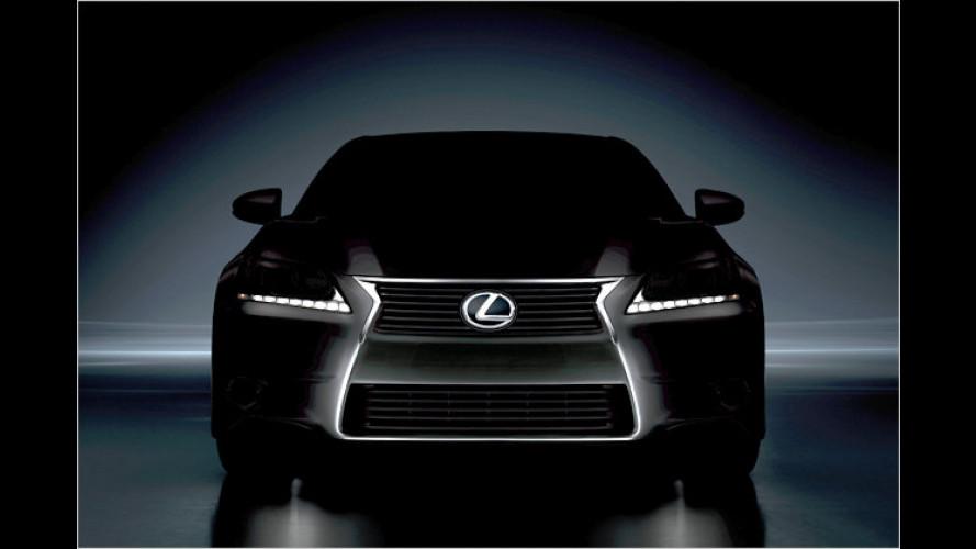 Neuer Lexus GS wird in Pebble Beach enthüllt